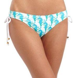 Letarte White Seahorse Bikini Set - Medium